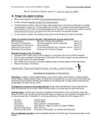Mla Citation Style R20100122 Docsharetips