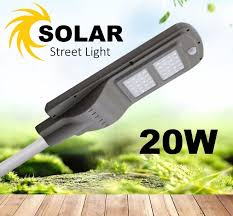 tyn solar street light creed led 20w solar panel