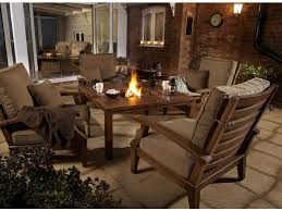 astounding outdoor kitchen decoration with fire pit dining table cly outdoor dining room decoration with