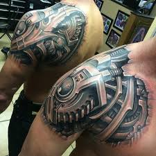 Biomech Ideas Sexy Tattoos Biomechanical Tattoo Mechanic Tattoo