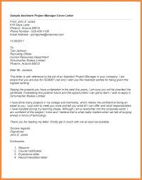 Assistant Marketing Manager Cover Letter Project Manager Cover Letter Samples Bitacorita