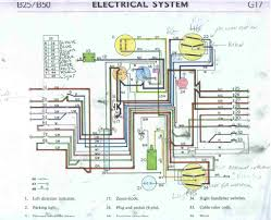 b50 wiring for blinkers i need some direction britbike forum i can see the old er points but i can t figure out what s what in relation the the diagram anyone know
