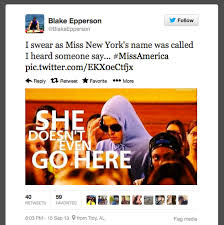 Public Shaming - New American Miss America is Not 'American' Says ... via Relatably.com
