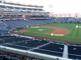 National Park Seating Chart Nationals Park Section 131 Seat Views Seatgeek