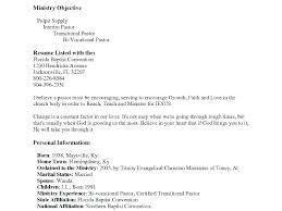 Pastor Resume Templates Inspiration Ministry Resume Templates Best Ideas Of Pastor Resume Templates