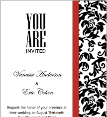 c8c75e577b057596ce1c2d94c5990ec1 black red wedding invitations template for pages red wedding on red and black wedding invitations templates