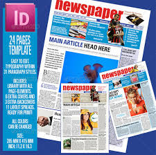 Newspaper Article Template For Pages Newspaper Article Template 10 Indesign Eps Pdf Documents