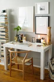 how to style a west elm parsons desk via alaina marie marie marie kaczmarski