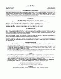 Sample Resume For Retail Sales