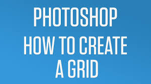 How To Create A Quick And Easy Grid In Photoshop Photoshop Quick