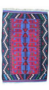 vintage kilim rug usak 3 2 x 5 feet
