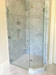 replace rubber seal around shower glass how to replace glass shower door seal medium size of