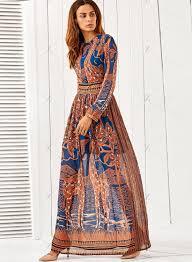Bohemian Dress Patterns Simple Inspiration Design