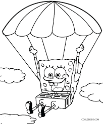 Charming Coloring Pages 5 Paged For Children Spongebob Squarepants