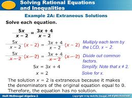 solving rational equations worksheet algebra 2 solving rational equations and inequalities examples jennarocca