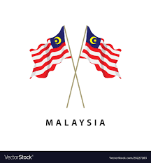 Malaysia Flag Design Vector Malaysia Flag Template Design