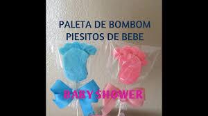 paleta de on piesitos de bebe baby shower tutorial madelin s cakes