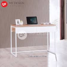 office writing table. MF DESIGN ATALIA OFFICE TABLE / STUDY DESK WRITING (LIGHT TEAK) Office Writing Table