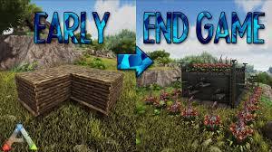 Ark Survival Base Designer Ark How To Upgrade Your Base Early End Game Base Design Part 1