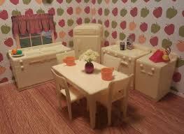 dollhouse furniture cheap. Mixed KITCHEN SET Marx Ideal Renwal Vintage Tin Dollhouse Furniture Plastic 1:16 #MarxIdeal Cheap