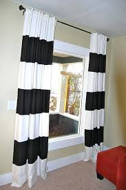 black white striped curtains 144 inch outdoor