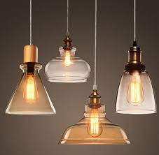 home lighting fixtures. Beautiful Home Lighting Fixtures Edison Loft Style Wood Glass Droplight