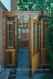 Interesting Wood Fence Gate Plans Privacy Gates And Trellis With Design