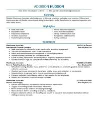 Warehouse Resume Objective Examples Warehouse Associate Resume Objective Examples Examples of Resumes 17