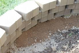 can you brick veneer retaining wall block home depot pertaining to retaining wall blocks to