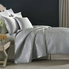 candice olson bedding silver ice queen quilted duvet coverlet collection embrace