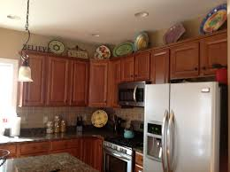 10 inspired top of kitchen cabinet decor ideas tips