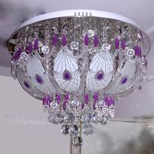 multi color ceiling light jhoomar lights surface mounted usb and bluetooth al colored gypsy chandelier colorful glass foyer lighting fixtures