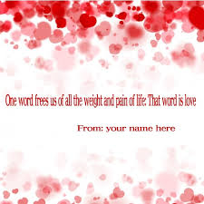 Free Love Quotes With Pictures New Online Create Free Love Quotes Pic With Your Name
