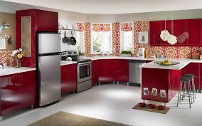 Red Cabinets In Kitchen Kitchen Red Cabinets Cliff Kitchen