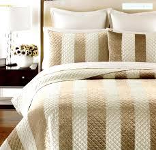 martha stewart siena stripe twin quilt set soc 1099