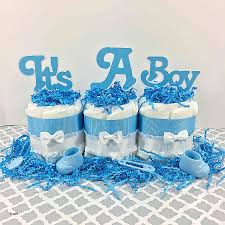 cake table decorations for baby shower fresh it s a boy mini diaper cake baby shower centerpiece