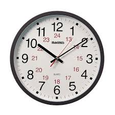 office wall clock. Magnus 12-in Office Wall Clock