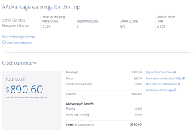 Aa Eqm Chart American Airlines Elite Qualifying Dollars Eqd The