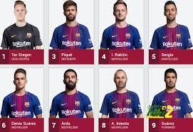 أربعة لاعبين في برشلونة بدون رقم حتى الآن ..! - هاي كورة