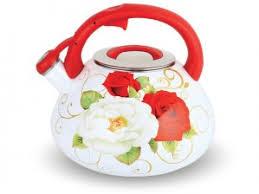 <b>Чайник эмалированный</b> KELLI KL-4196 со свистком <b>3.5</b>л купить ...