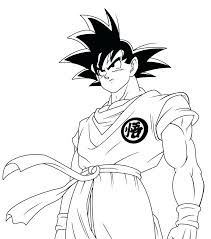 Dragon Ball Gt Baby Vegeta Coloring Page With Coloring Pages Goku