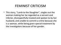 criticism research paper feminism research paper