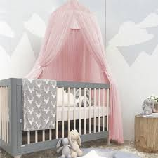 Hilitand Baby Kids Round Dome Bed Canopy Mosquito Netting Curtain ...