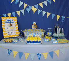 Blue Camouflage Party Decorations Rubber Duckies And Blue Camo Baby Shower Party Ideas Photo 1 Of
