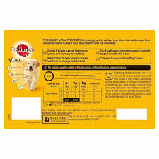 Pedigree Puppy Food Feeding Chart Pedigree Mixed Selection In Jelly Puppy Wet Dog Food Pouches