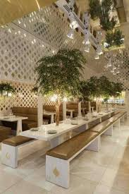 small restaurant design photos | small trees of elegant and luxury ...
