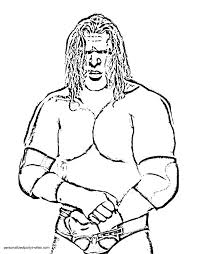 Jeff Hardy Coloring Pages Coloring Triple H Coloring Page Hardy