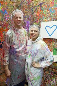 paint splatter studio date night a night with splatter paint paintings and tons of fun