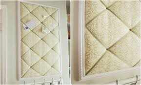 How To Make French Memo Board Tufted Memo Board You Will Need Frame Wood Batting Fabric 16