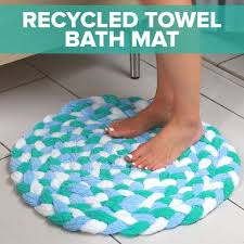 innovative diy bathroom rug with best 25 diy bath mats ideas on home intended for 3